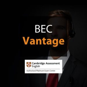 Esame Cambridge BEC Vantage – 19 Marzo 2021