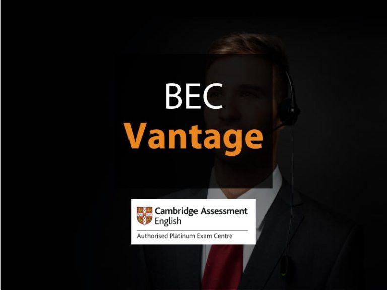 esame Cambridge BEC Vantage