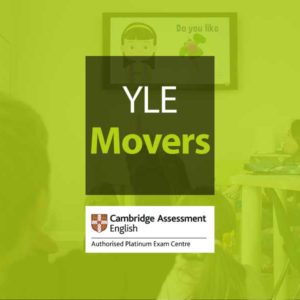 Esame Cambridge YLE Movers – 27 Maggio 2021