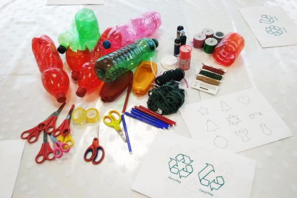 Upcycled plastic Jewellery Workshop